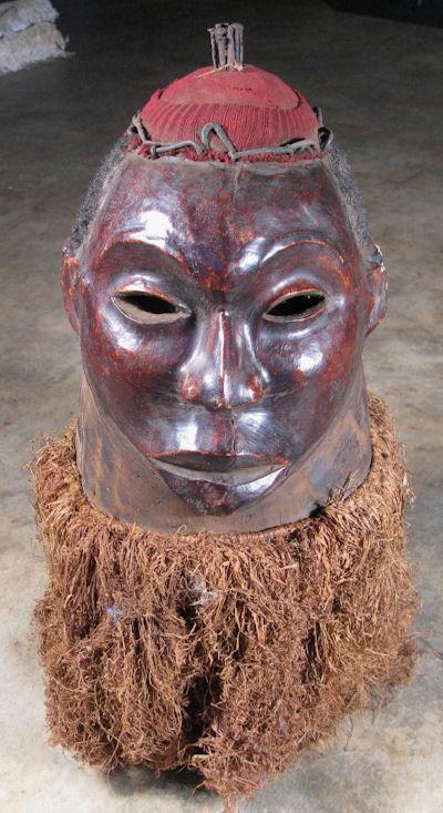 Igbo Helmet Mask 1122 By Cyberrug