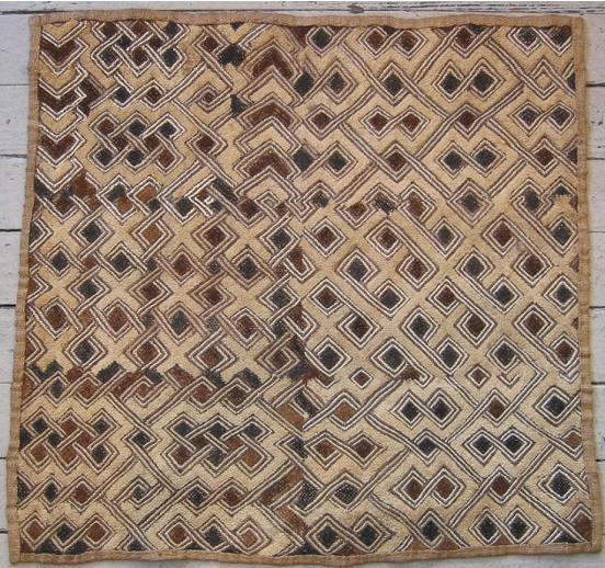 Kuba Raffia Cloth 7852 By Cyberrug