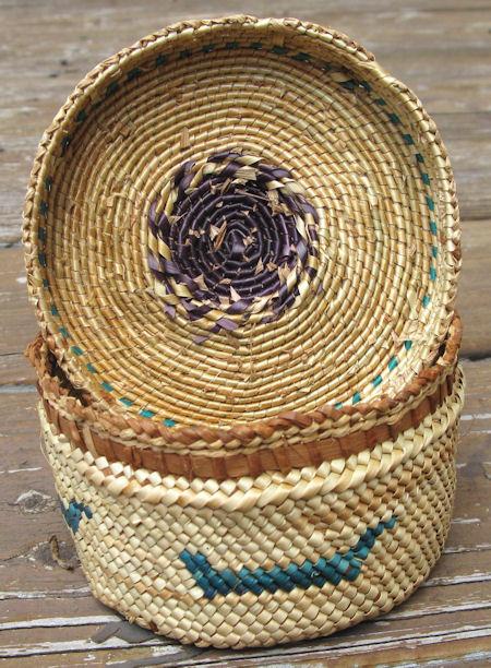 Makah Nootka Basket 7930 By Cyberrug