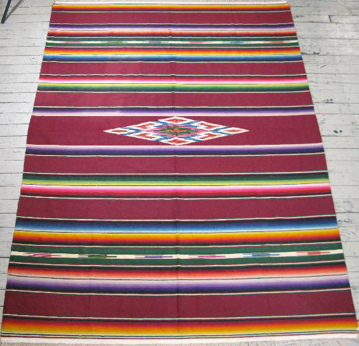 Mexican Serape #12860 By Cyberrug