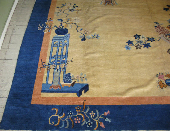 Antique Peking Rug 38 8130 By Cyberrug