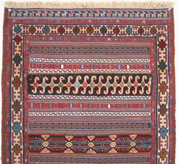how to finish a edge of a bavarian rug