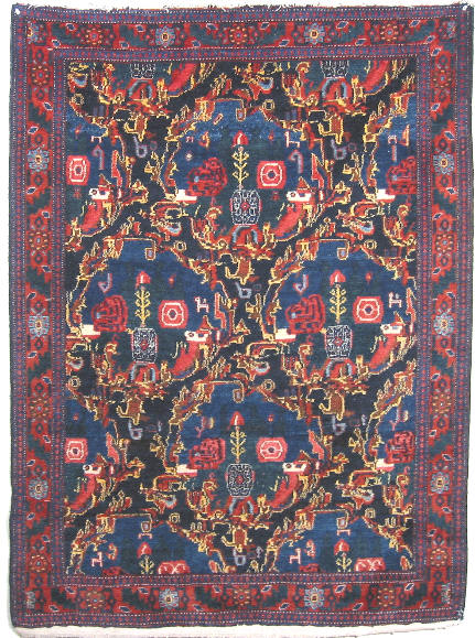 Senneh Rug 12543 Large Photo By Cyberrug